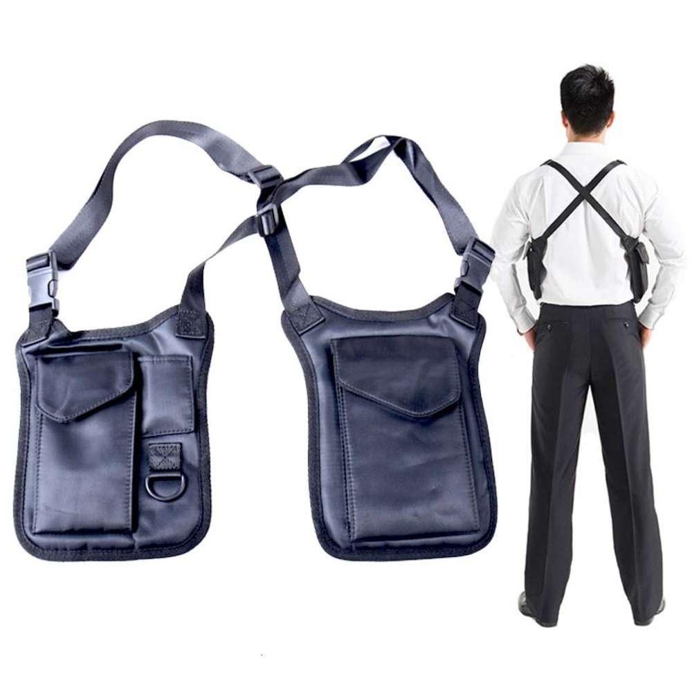 Anti Diebstahl Gun Tasche Armee Taktische Schultertasche Pistolenholster Tablet Brieftasche Aufbewahrung Männer Agent Packung Militär Jagd Brust Pack 201022