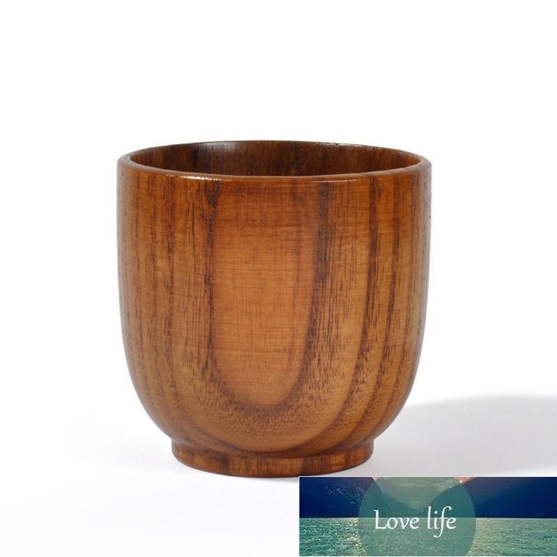 Copo de chá de madeira proteção ambiental retro cerimônia de chá drinkware xícara de chá retro