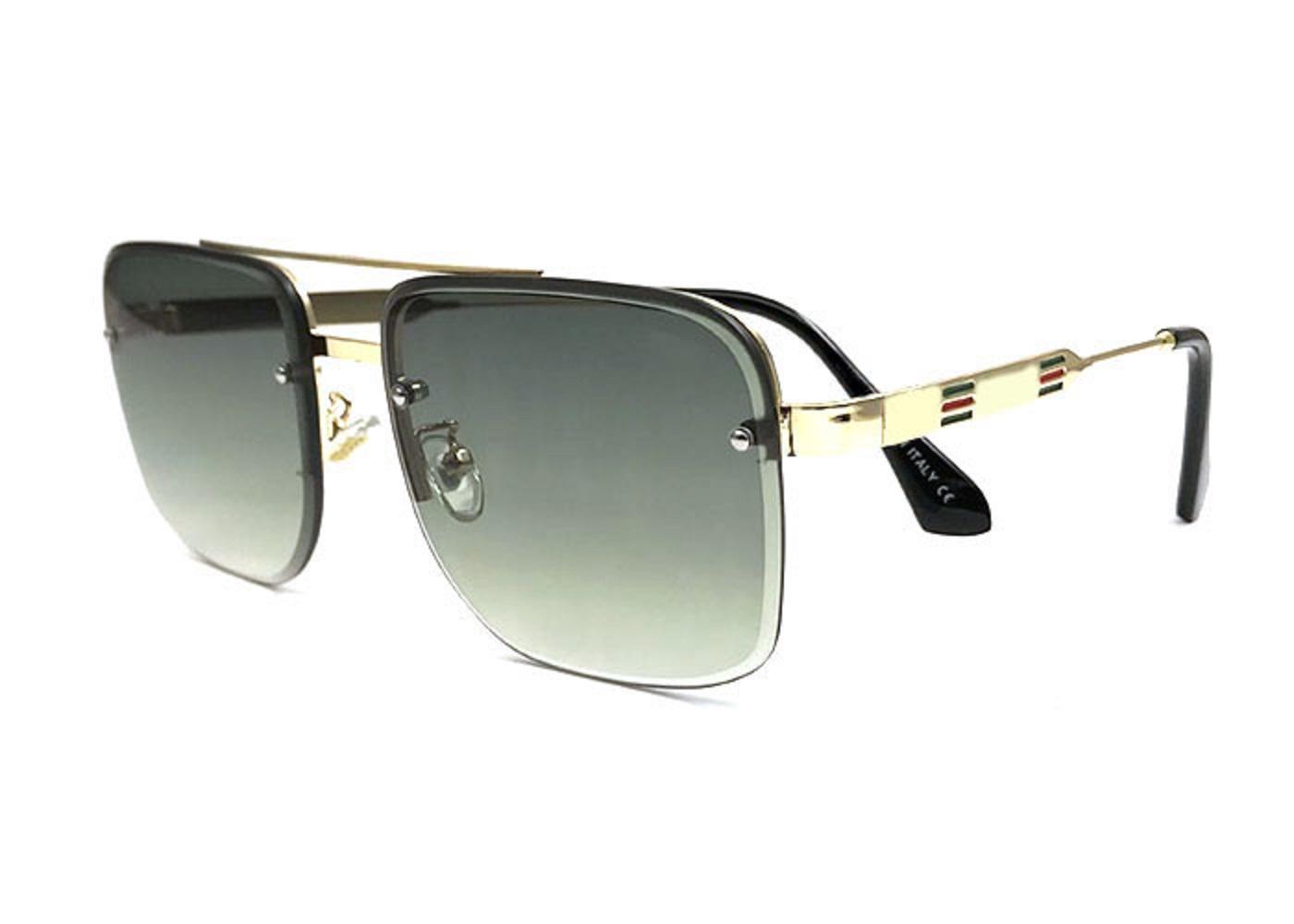 2021 الصيف نمط الرجال النساء النظارات الشمسية فريد ساحة درع uv400 خمر النظارات إطارات إيطاليا تصميم تأتي مع مربع