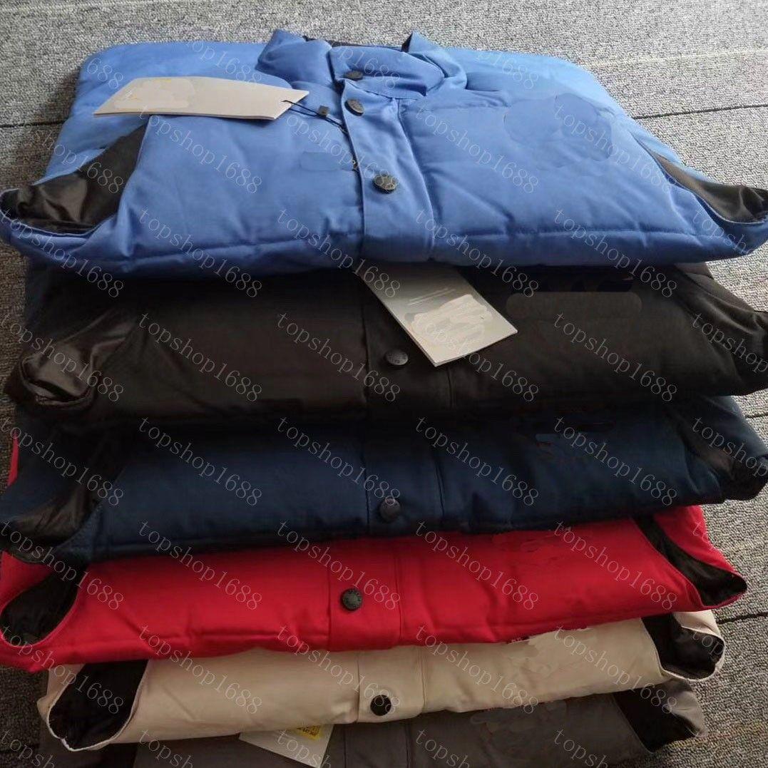 2021 سترات أسفل سترة الشتاء سترة سترات أسفل ستر معطف مقنعين للماء للرجال والنساء سترة واقية هوديي سترة سميكة الدافئة الملابس حجم S-XXL
