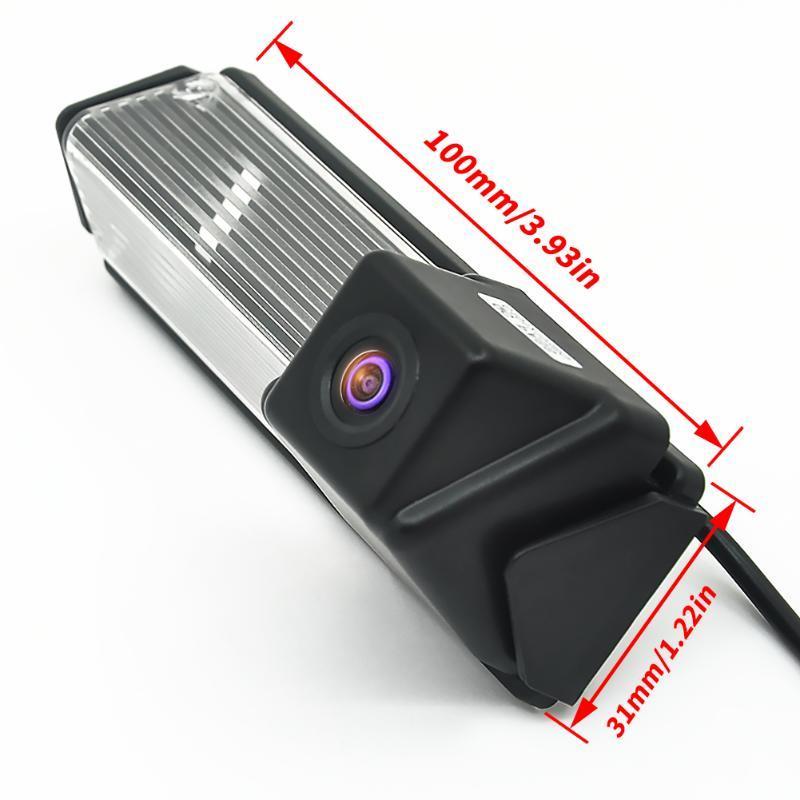 For Mitsubishi Pajero Sport Grandis Challenger Nativa Car Night Vision Reverse Backup Parking Reversing Rear View Camera Cameras& Sensors