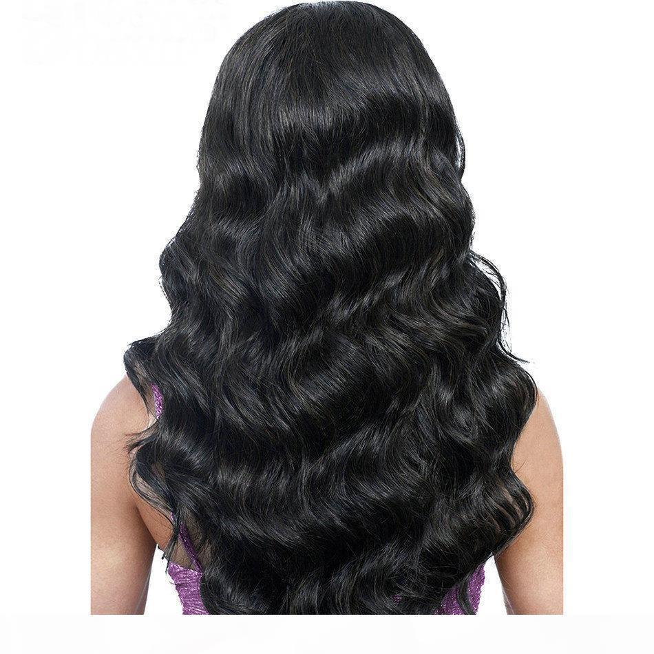 Heiße brasilianische menschliche Haarspitze Frontperücken für schwarze Frauen Brasilianische Körperwelle vorgepteten natürlichen Haaransatz Spitze Frontperücken mit Babyhaar