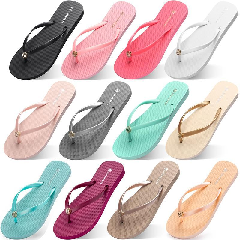 الأزياء النعال الوجه يتخبط شاطئ الصنادل الأحذية Type35 الصيف شوهي الرياضة حذاء النسائية الأخضر الأصفر البرتقالي البحرية بولي الأبيض الوردي البني 35-38