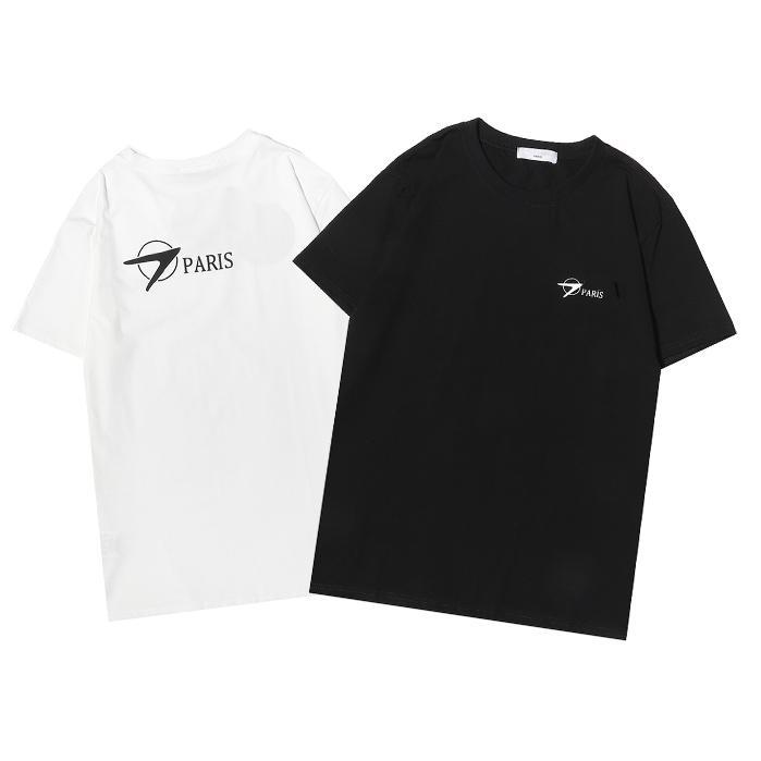 Moda Optimal Lüks Erkekler Kadın T Shirt Yaz Mektubu Grafik Tasarımcı Boy Tee