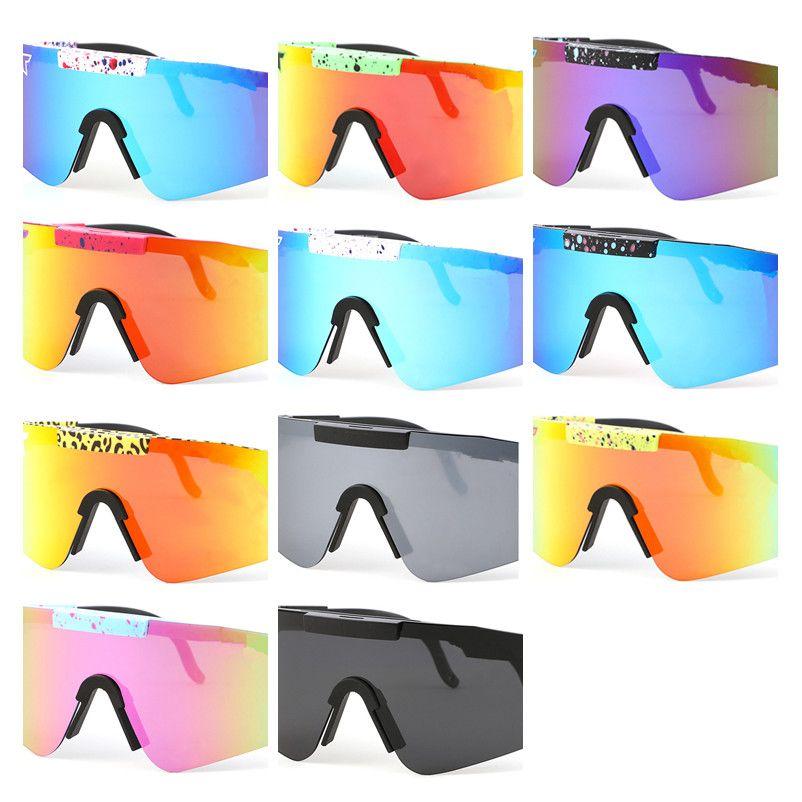 Summer Men PPIIT Polarized Sunglasses Riding Sun Glasses Women Drving Wind Eyewear Fashion Cycling Eyeglasses UV400 Protection 11 Color