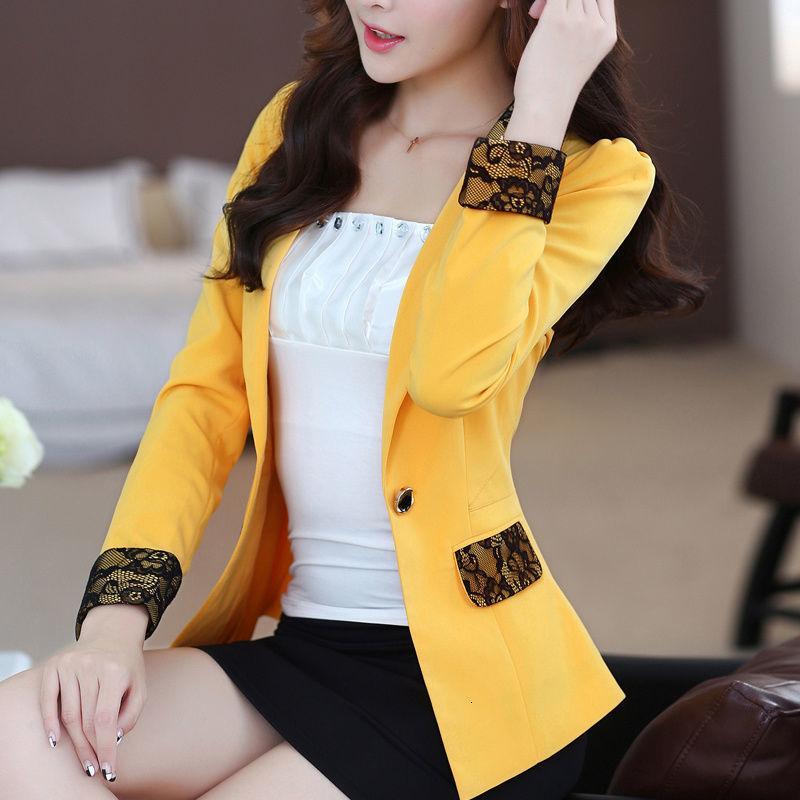 Fatos femininos blazers plus size mulheres blazer outono outono casual manga longa escritório pequeno slim work work jackets feminino 3x