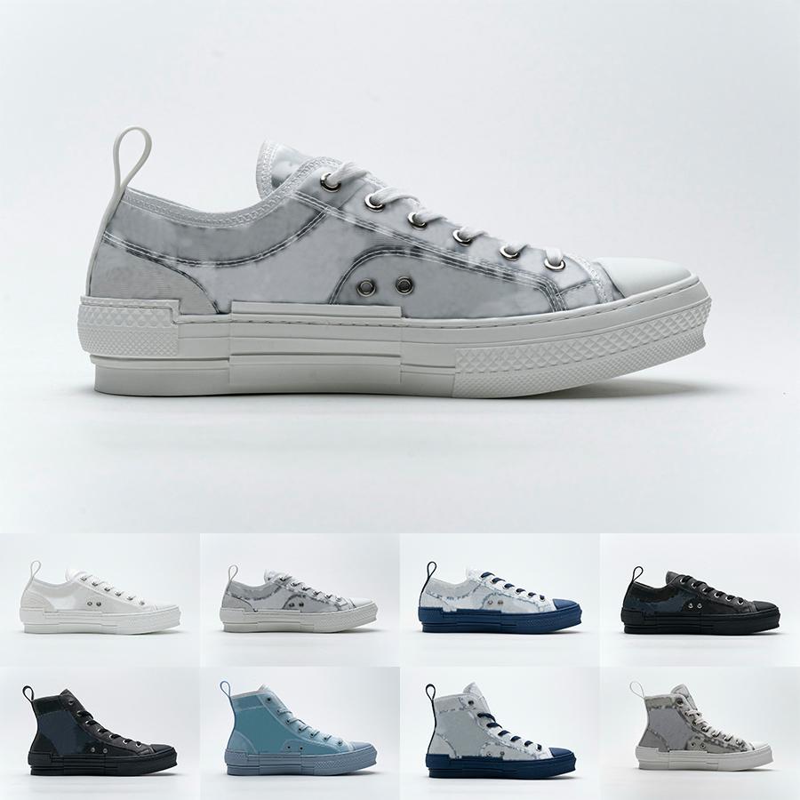 الرجال عالية أعلى منصة الأحذية أزياء النحل الشفافية نوير منخفضة منحرف حذاء سنيكرز النساء مصممين عارضة أحذية H565 H960 H063
