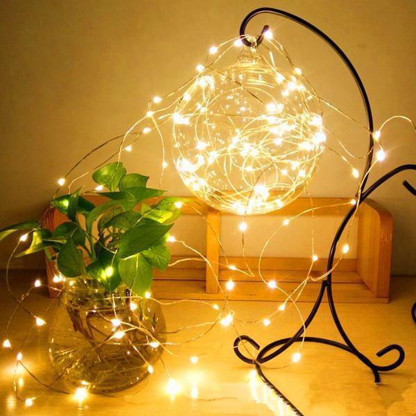 String Light Fashion Garrafa Lâmpada Casa Decoração Decoração de Natal Halloween Shopping Decor Cordas de Iluminação LED