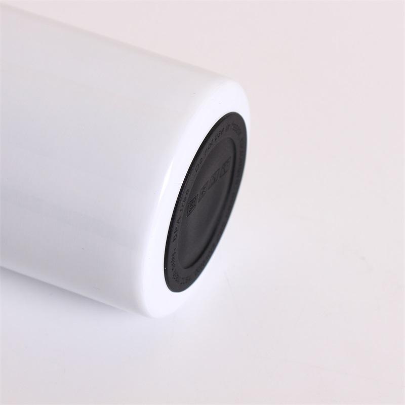 Runde schwarze Gummi-Untersetzer Selbstklebende Tasse Bodenaufkleber für 20 Unzen 30 Unzen Schutzschützer rutschfeste Pad 601 V2