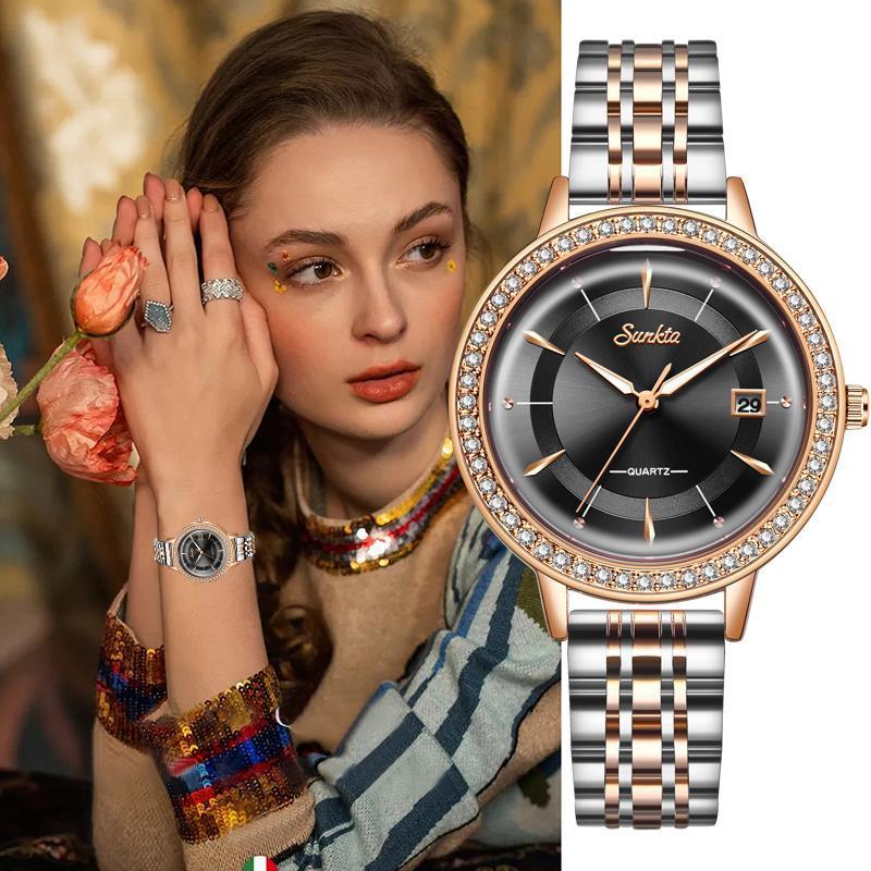 المعصم zegarek damski relojes الفقرة موهير مونتر فام relogio feminino النساء الساعات أعلى ووتش ل هدية السيدات