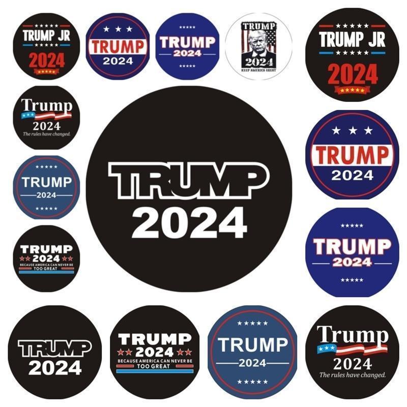 Trump 2024 Bumper Adesivo Car Window Decalcomania Le regole hanno cambiato Adesivi Maga presidente Donald Trump Torna GGA4394