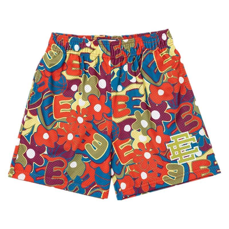 Transpirable ee malla deporte fitness pantalones cortos musculares deportes pantalones cortos diseñador moda casual pantalón gimnasio corriendo