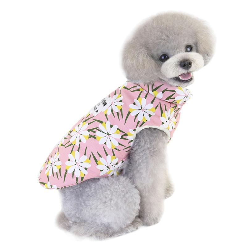 Hundebekleidung Haustier Winterjacke Mantel Kleidung Kleine Warme Hunde Little Daisy Welpen Outfit Katze Daunenjacke1