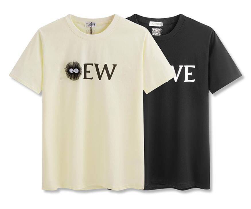 2021 Sommer Casual Threedimensionale Elf Gedruckt Kurzarm T-Shirt Männer und Frauen Reine Baumwolle Rundhals Pullover Bottoming Hemd