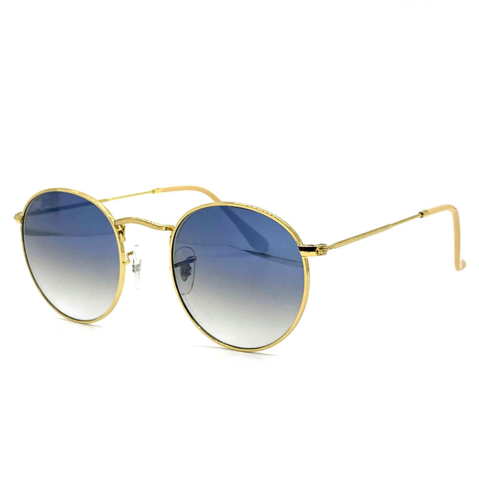 Lunettes de soleil Mesdames et alliage d'hommes Matériau Light RB3447 Cadre de lunettes