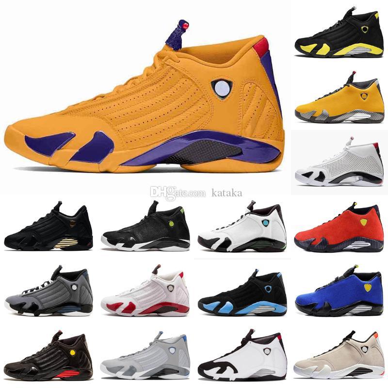 Jumpman 14 14s DB Doernbecher Gym Red Turbo Mens Baloncesto Zapatos de baloncesto 13 13s University Gold Playoff Zapatillas deportivas