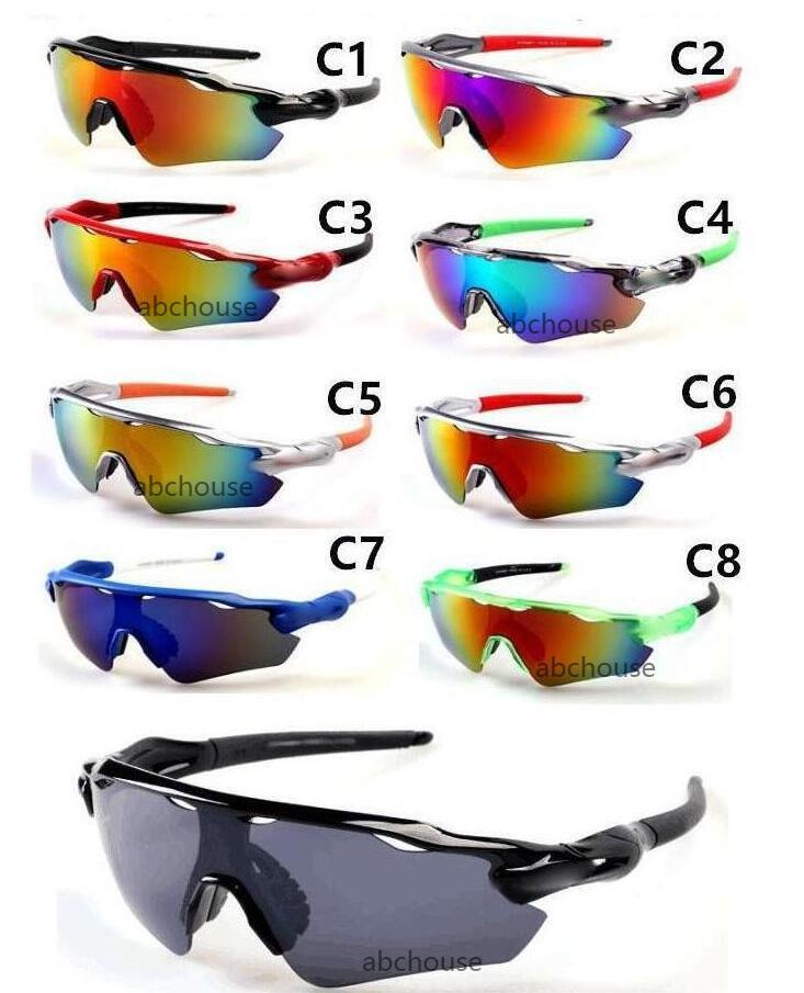 BRAND Bicycle Glass MEN sunglasses sports to peak cycling sunglasses Sports spectacl fashion dazzle colour mirrors
