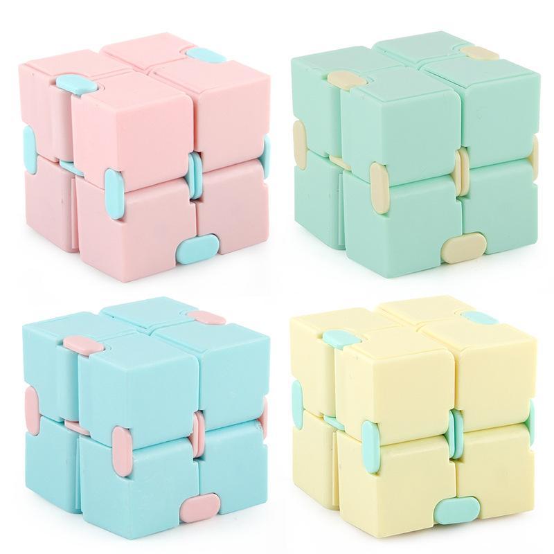 Infinito cubo descompressivo ansiedade brinquedos dobrável jogo de quebra-cabeça brinquedos cubos mágicos novidade inquieta cubo
