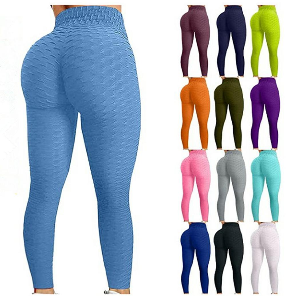 Annelik Dipleri Çarpma Tarzı Tik Tok Tozluk Koymak Kalça Katlı Elastik Yüksek Bel Legging Nefes Ince Yoga Pantolon Kapalı Spor