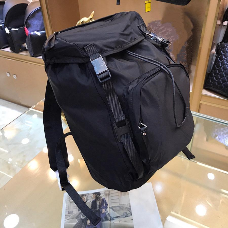 أحدث جودة عالية قماش ماء النايلون سعة كبيرة حقيبة الظهر أكسفورد الغزل الأزياء الرجعية الرجال حقائب الظهر الأزياء حقائب السفر رقيقة