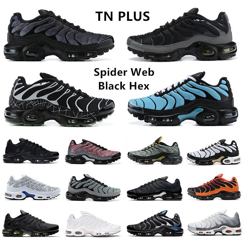 Team Red TN Plus SE أحذية رياضية للرجال Toggle Lacing رمادي ثلاثي أسود ذهبي معدني أبيض Volt Glow Zebra أحذية رياضية للرجال Nike Air Max Tn Plus Airmax