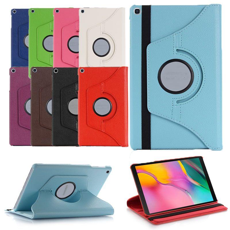 태블릿 케이스 iPad 10.2 Pro 11 10.5 Air Mini 5/4/3/2 갤럭시 탭 S7 360 회전 가죽 커버