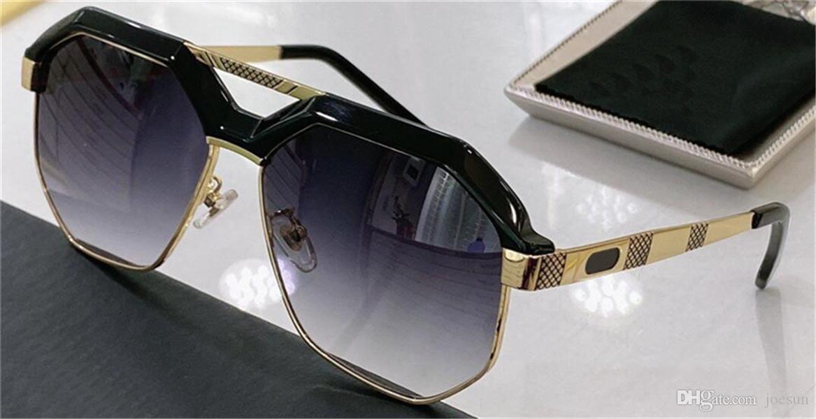 Germania Fashion Design Occhiali da sole 9092 Cornice quadrata Stile semplice e generoso Stile Top Quality Outdoor Occhiali protettivi UV400 con Glassescase