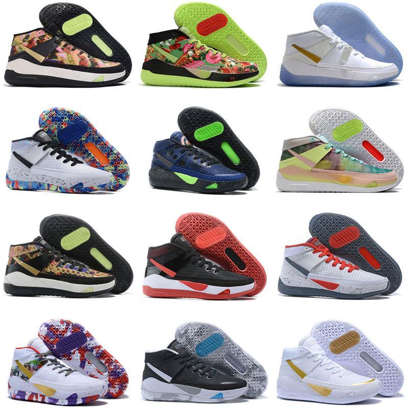 2021 كيفن durant XIII KD 13 13S أحذية رجالي كرة السلة متعدد الألوان KD13 المدربين Zoom Elite Sport Sneakers