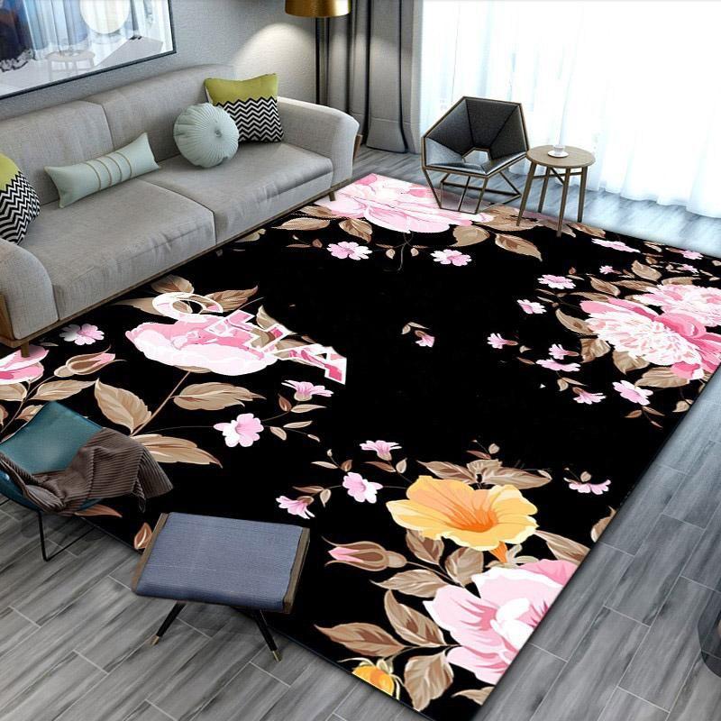 150x200 cm Carpet Home Decorations Luxury Designer Carpets Entry Door Mat Polyester Material 40 Designers XD24592