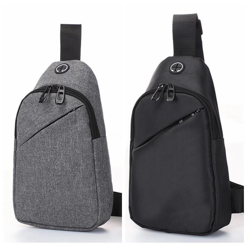 Homens Luminous Peito Saco Top Quality Outdoor Casual Sling Crossbody Bag Waterproof Tela bolsa de ombro Mulheres Travel Mochila