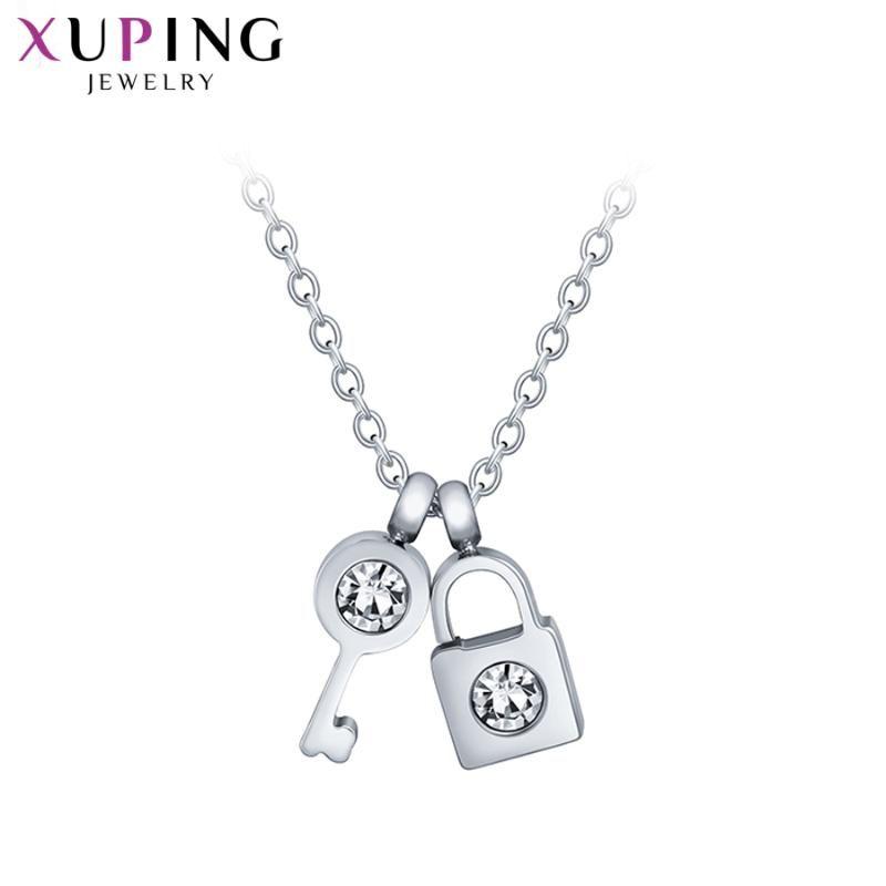 Xuping américain et européen exquis pour filles branchées bijoux de luxe de luxe de luxe cadeaux M104.7-40617 Pendentif Colliers