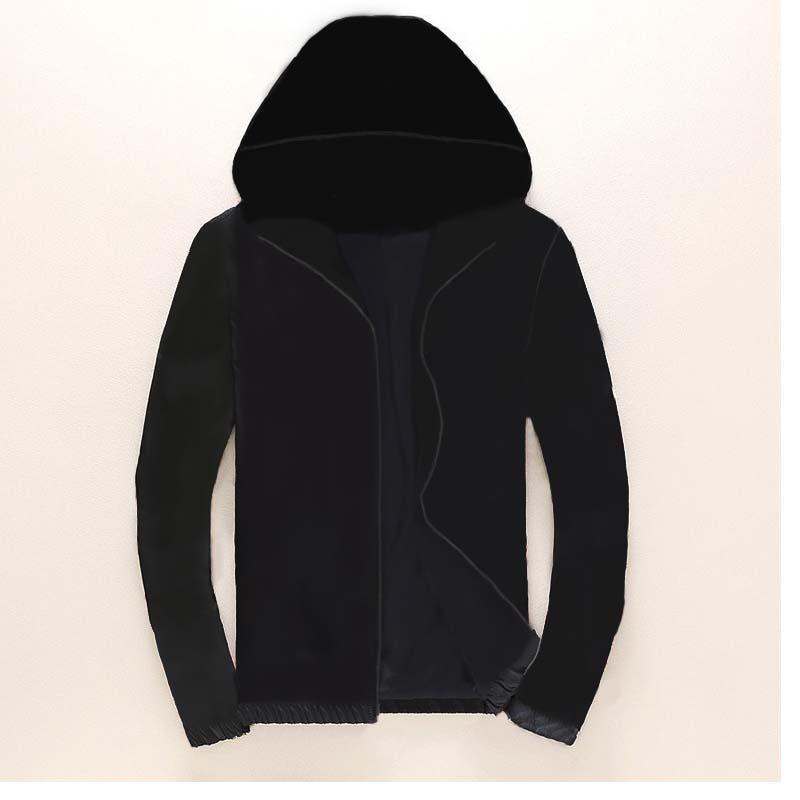 Moda Ceket Rüzgarlık Uzun Kollu Erkek Ceketler Hoodie Giyim Fermuar Ile Hayvan Mektup Desenli Artı Boyutu Giysileri M-3XL