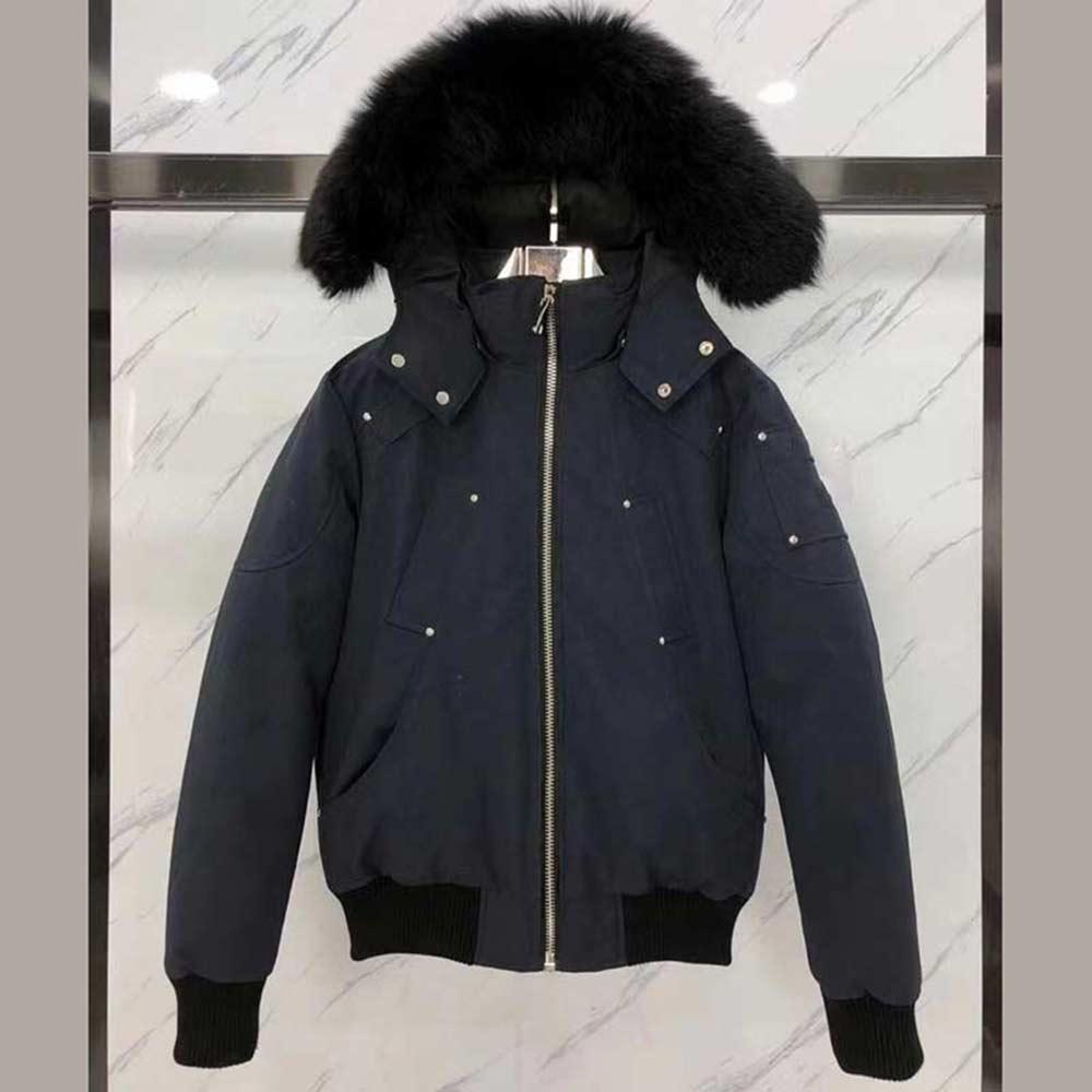 2021 남자 겨울 코트 큰 모피 칼라 homme homsy 겉옷 후드 두꺼운 코트 망 여성 재킷 두꺼운 코트 망 여성 재킷이있는 비행 재킷
