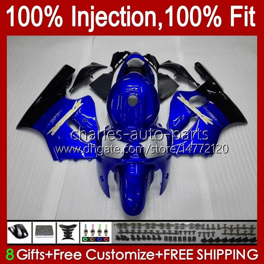 Injection OEM Body For KAWASAKI NINJA ZX 1200 CC 12 R ZX1200C ZX12R 00 01 Bodywork 2No.9 ZX 1200 12R 1200CC ZX-12R 2000 2001 ZX1200 C 00-01 100%Fit Fairing glossy blue