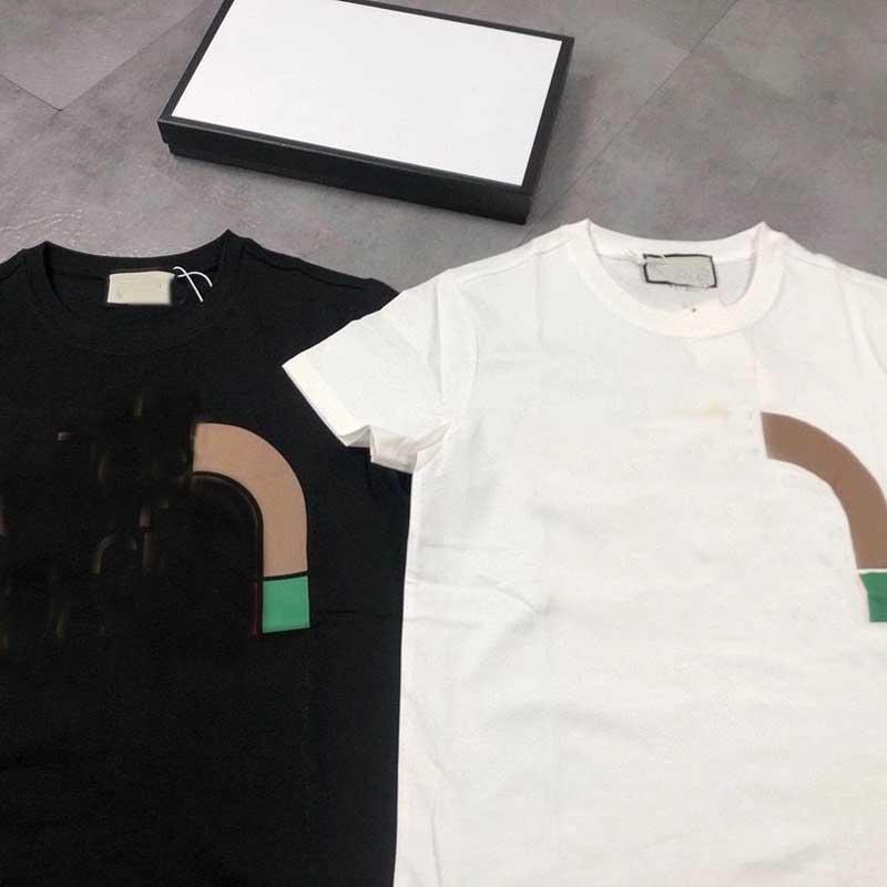 2021 moda camisetas para homens tops letra minúsculo Mens mulheres de manga curta t-shirt