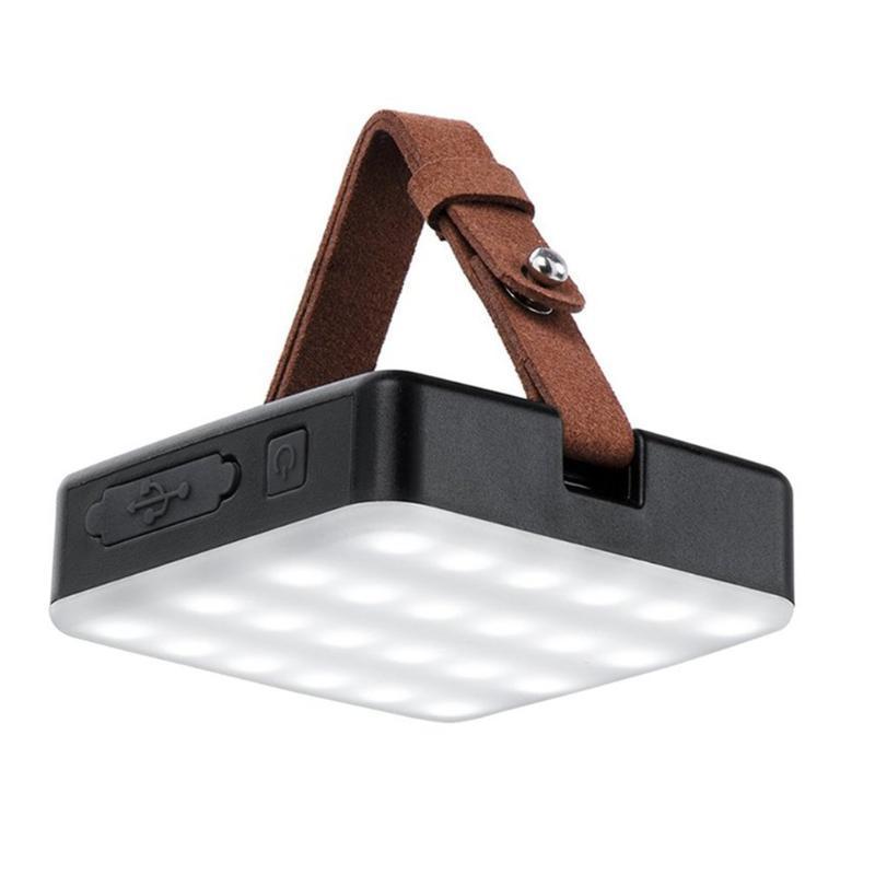 أضواء LED قابلة للشحن التخييم في الهواء الطلق خيمة المحمولة مخيم ضوء الفوانيس الإضاءة في حالات الطوارئ