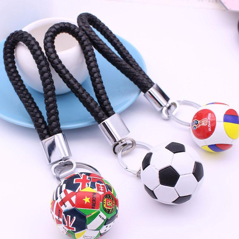 Schlüsselanhänger Auto Keychain Key Ringe Ketten Kette Sport Fußball Herrenspieler Fans Must-Have Mode Geschenk Anhänger Dekoration