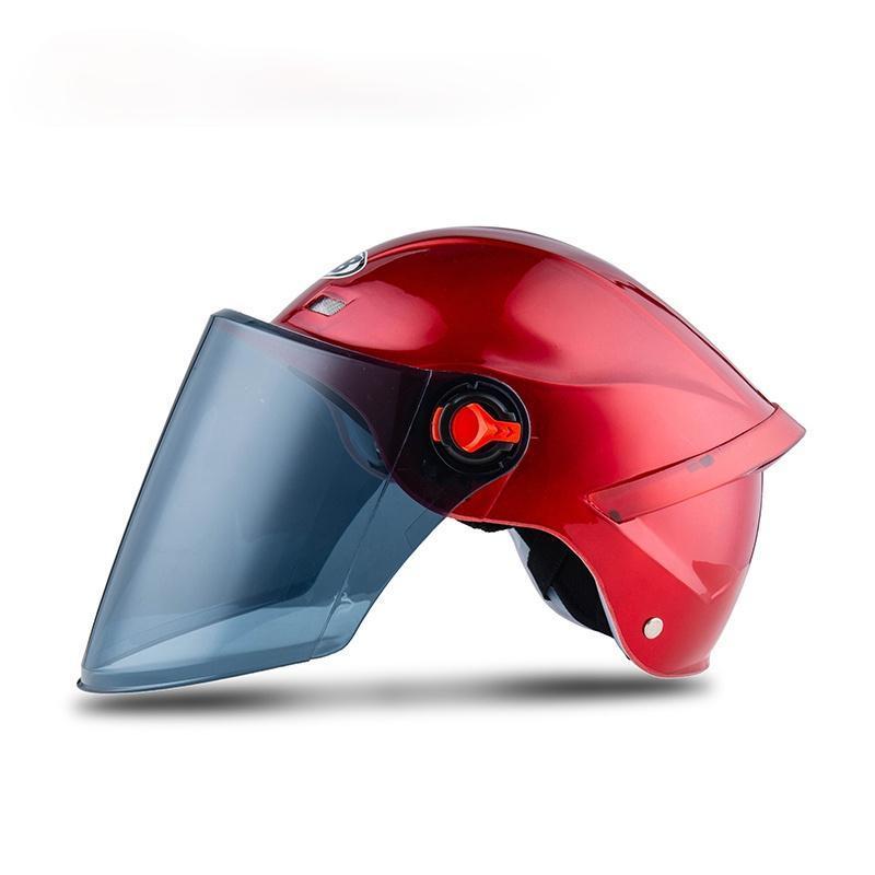 X206men Casco de motocicleta Capacete de Moto Casco Motocross Accesorios Verano ElectricBike Mujeres Medio ciclismo Cascos