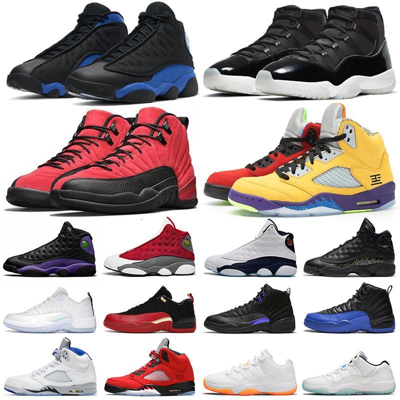 11s zapatillas de baloncesto para hombre Jubilee 12s Dark Concord Reverse Flu Game 13s Hyper Royal Red Flint zapatillas deportivas para mujer