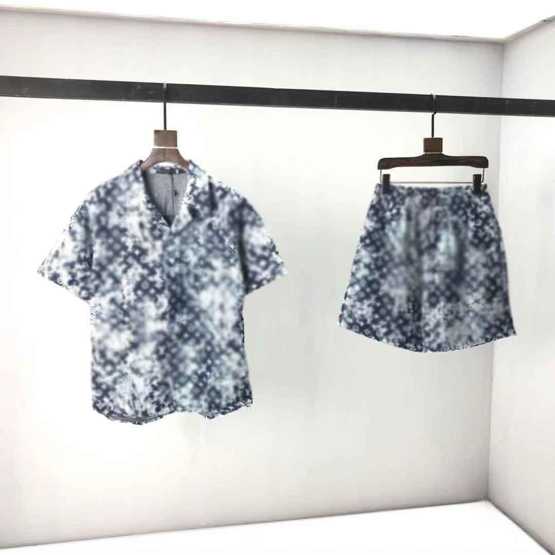 2021ss Spring and Summer Nouveau Coton de haute qualité Impression à manches courtes Panneau à col rond T-shirt Tableau: M-L-XL-XXL-XXXL Couleur: Noir Blanc BDVM6