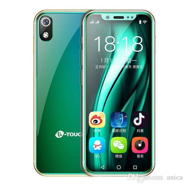 "3.5"" 4G LTE CDMA WCDMA Andriod8.1 Best Celulares Smartphones Face Lock 64GB ROM MTK6739 QuadCore 8MP Mini Smartphone Sbloccato Cell Phone"