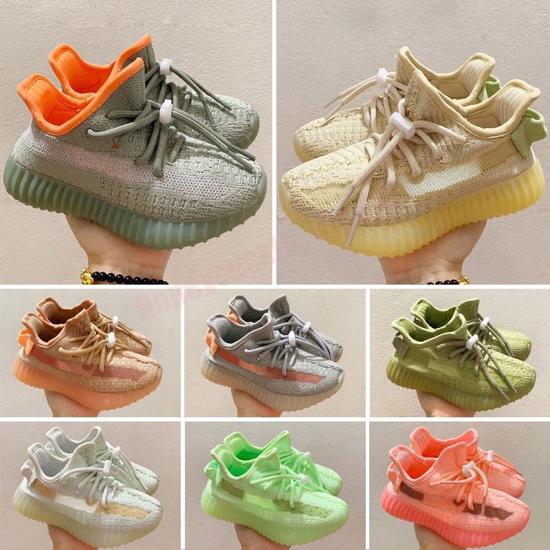 Crianças estática manteiga sapatos zebra beluga 2.0 creme branco criado semi congelado esportes ao ar livre sneakers tamanho 24-35