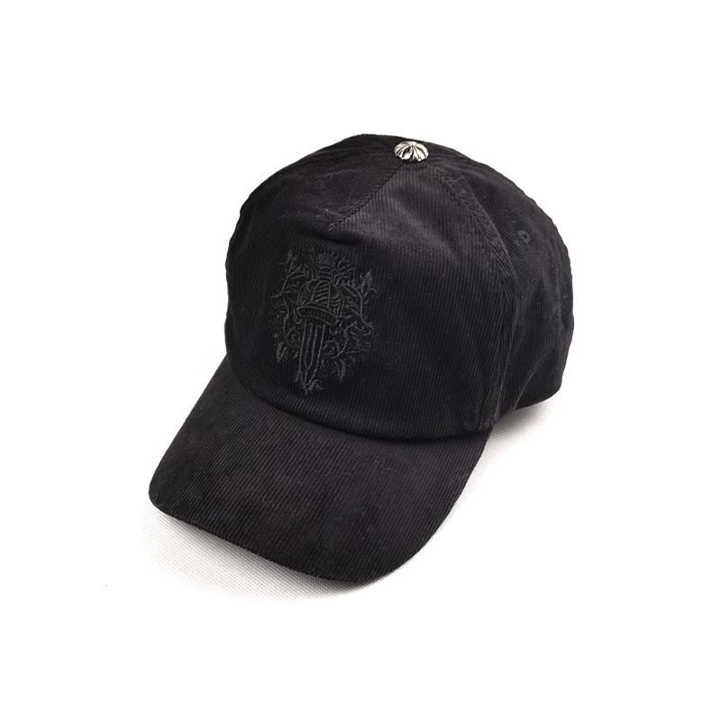 Cappello da camionista Fibra di cotone naturale ricamato Sei pagine Unisex Pure Color Caldo protezione solare protezione solare Produttori Vendite dirette