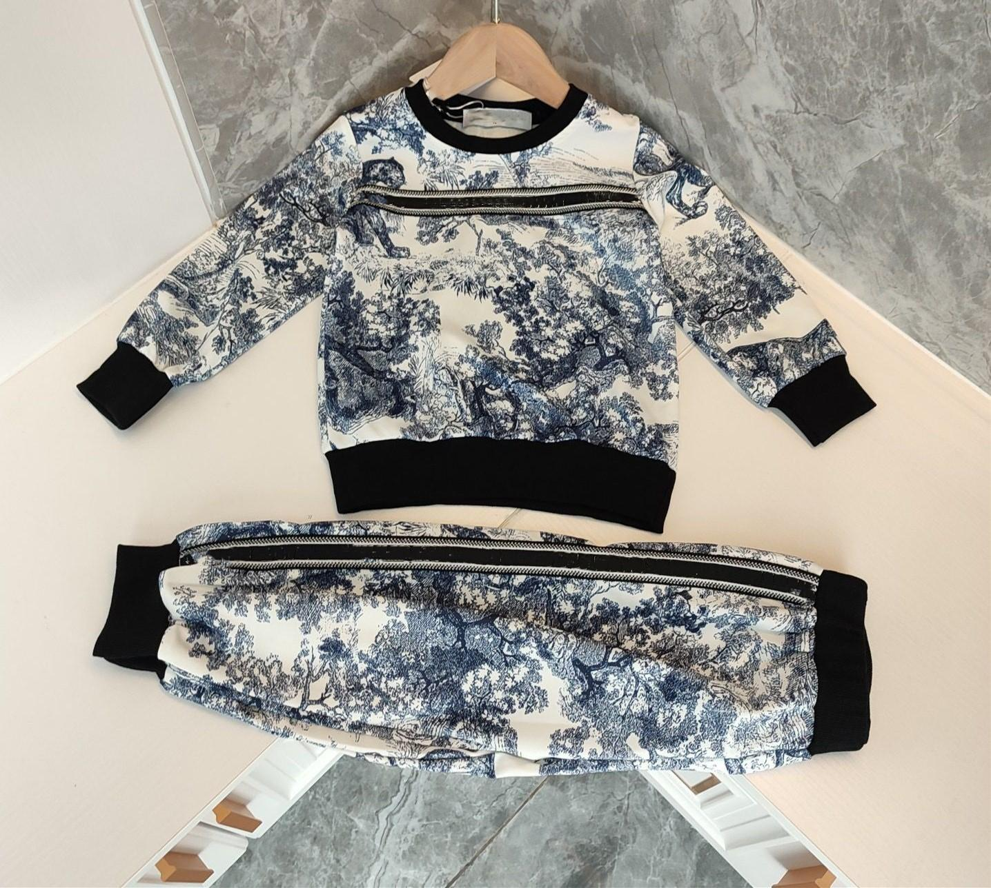 2021 Yeni Çocuk Giysileri Takım Elbise Kız Erkek Giyim Sonbahar Infantis Bebek Setleri Chlidren Uzun Kollu Spor Suits Çocuk Takım Elbise