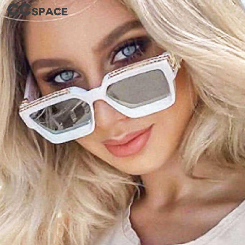 CCSPACE 46167 SL Größe Square Luxus Cool Sonnenbrille Männer Frauen Mode UV400 GlassesLargeframe 210529