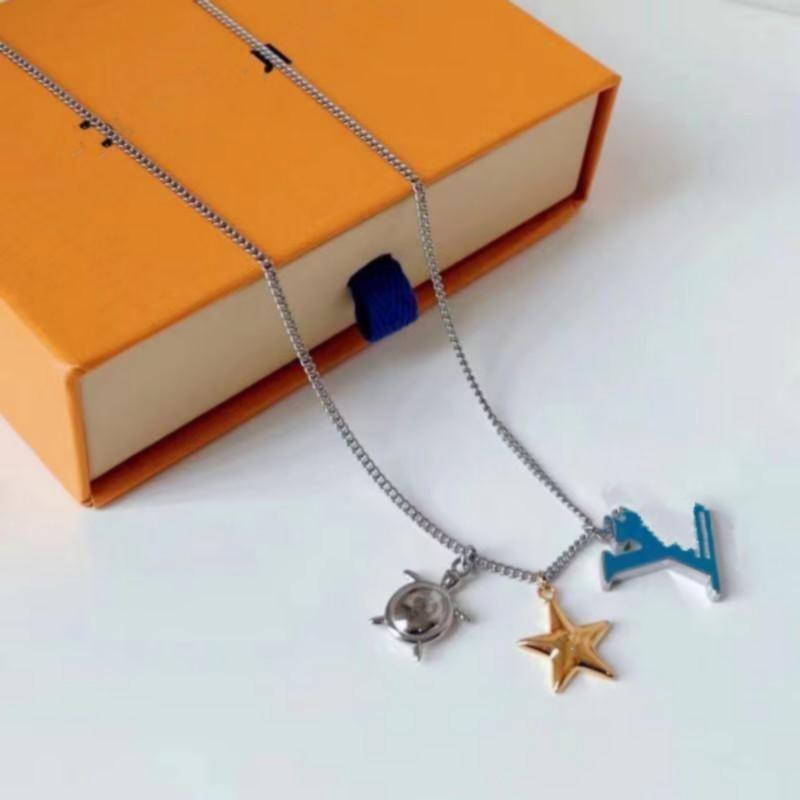 Neueste Einführung Französische Meister entworfene Luxus Schmuck Männer und Frauen Ozean Serie Halskette Festival Geschenk