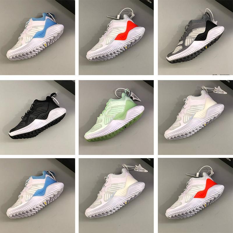 Zapatillas para niños Ecru Tint Ash Pearl Extra Butterly X Alphaboted Mayores M Sneaker Aero Azul Carbon-Solid Grey Children Girl Sport Trianer