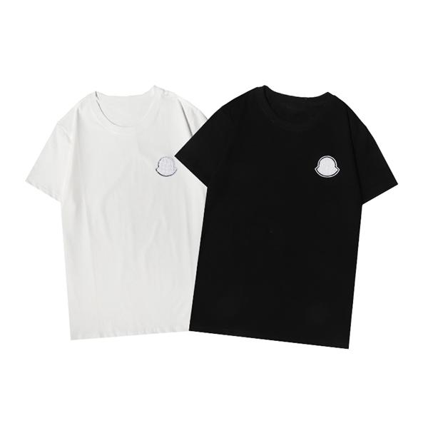 Summer new trendy brand T-shirt short-sleeved fashion all-match men and women with the same style18q