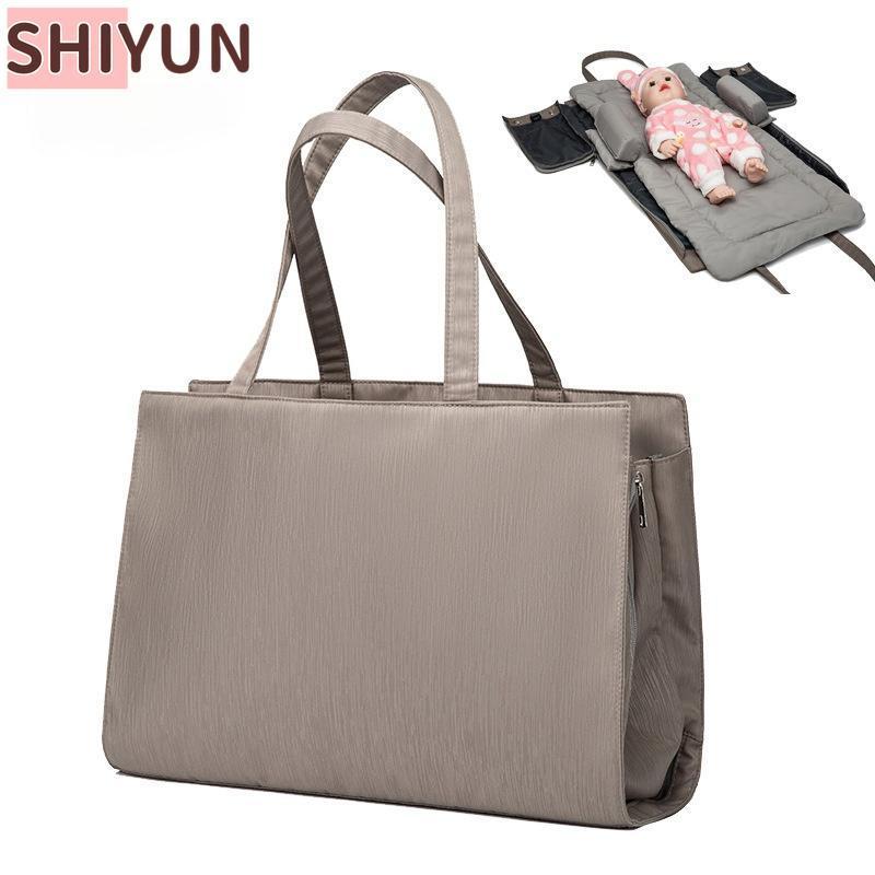 1 기저귀 가방 배낭 접이식 아기 침대 방수 여행 간호 패션 SY309 가방