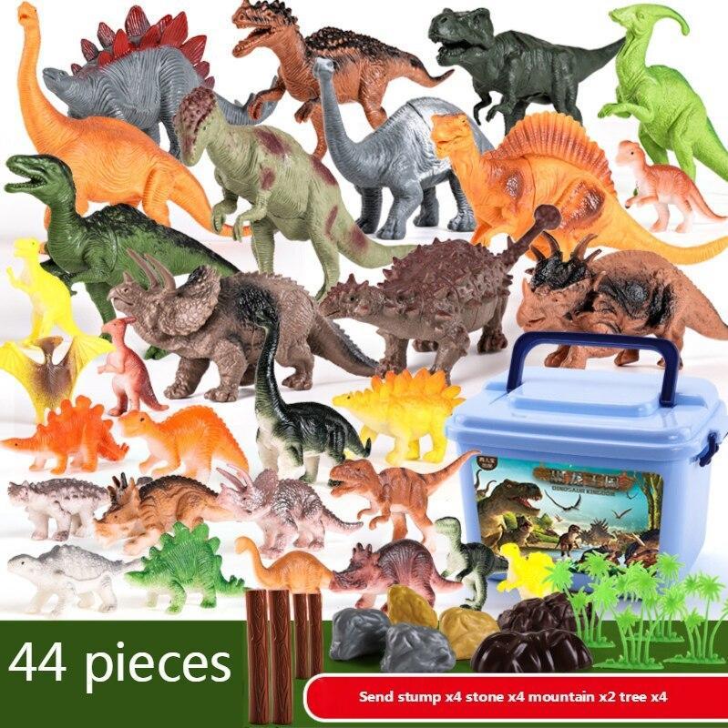 kids Pretend Play Jurassic Park Dinosaur Toys Model Dragon Toy Set for Boys Animal Figure For boy Birthday Gifts 210425
